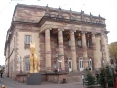 Théâtre municipal, actuellement Opéra du Rhin -  photo prise par mes soins le 7/12/06