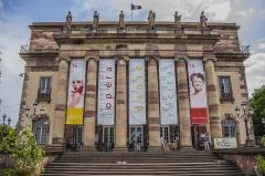 Théâtre municipal, actuellement Opéra du Rhin -  Place Broglie