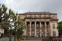 Théâtre municipal, actuellement Opéra du Rhin -  Opéra de Strasbourg (Strasbourg - Bas-Rhin - France)