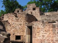 Ruines du château Wangenbourg -  Château de Wangenbourg (XIIIe siècle). Détails