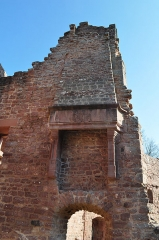 Ruines du château Wangenbourg -  Chateau de Wangenbourg