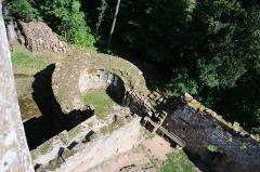 Ruines du château du Nouveau-Windstein -  DSC_6576
