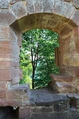 Ruines du château du Nouveau-Windstein -  DSC_6522