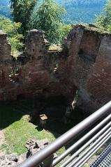 Ruines du château du Nouveau-Windstein -  DSC_6483