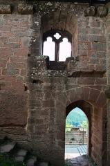 Ruines du château du Nouveau-Windstein -  DSC_6474