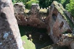 Ruines du château du Nouveau-Windstein -  DSC_6412