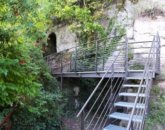 Ruines du château du Vieux-Windstein -  DSC_6690 - DSC_6692