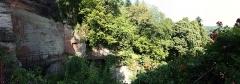 Ruines du château du Vieux-Windstein -  DSC_6677 - DSC_6685