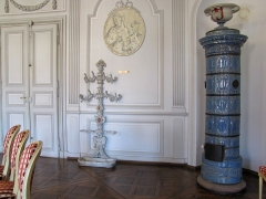 Hôtel de ville - Alsace, Bas-Rhin, Wissembourg, Hôtel de Ville (1741), place de la République (PA00085251, IA67008061): Salle des mariages.