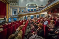 Ancien cinéma U.T. -  Strasbourg cinéma Odyssée hommage à Germain Mulller 22 février 2014.