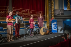 Ancien cinéma U.T. -  Strasbourg cinéma Odyssée hommage à Germain Muller 22 février 2014. Le groupe Wàldteïfel.