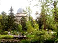 Jardin botanique - English: Observatory and botanical garden in Strasbourg.