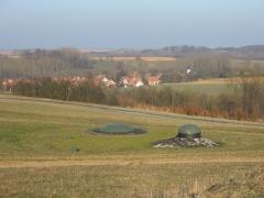 Fort de Schoenenbourg (ligne Maginot) -  Fort de Schoenenbourg, élément de la ligne Maginot. Bloc 3.  Photo prise par Denis Helfer sous licence GFDL.