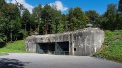 Fort de Schoenenbourg (ligne Maginot) (également sur commune de Hunspach) - Deutsch: Fort de Schoenenbourg der Ligne Maginot, Elsass, Frankreich.