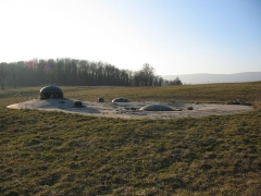 Fort de Schoenenbourg (ligne Maginot) (également sur commune de Hunspach) -  Fort de Schoenenbourg, élément de la ligne Maginot. Bloc 5.  Photo prise par Denis Helfer sous licence GFDL.