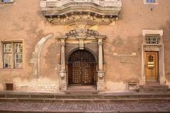 """Ancien corps de garde ou ancienne maison de police -  COLMAR...Ancien Corps de Garde """"1575""""."""