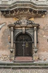 Ancien corps de garde ou ancienne maison de police - English: Portal of the former guard house at 17 place de la Cathédrale in Colmar, Haut-Rhin, France