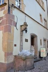 Maison Adolphe -  Place de la Cathedrale, Colmar, Alsace, France
