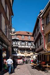 Maison - Deutsch: Bilder aus Colmar