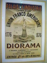 Musée Bartholdi -  Diorama Union Franco Americaine