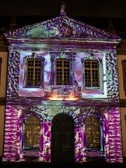 Ancien palais du Conseil Souverain d'Alsace, actuel Tribunal de Grande Instance -  Marché de Noël à Colmar