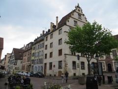 Ancien palais du Conseil Souverain d'Alsace, actuel Tribunal de Grande Instance -  Rue Saint-Jean