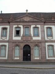 Ancien palais du Conseil Souverain d'Alsace, actuel Tribunal de Grande Instance - Deutsch: Dieses Bild zeigt ein weiteres Bild über das