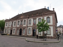 Ancien palais du Conseil Souverain d'Alsace, actuel Tribunal de Grande Instance -  Tribunal de Grande Instance