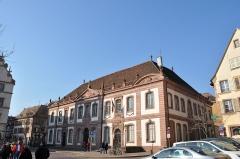 Ancien palais du Conseil Souverain d'Alsace, actuel Tribunal de Grande Instance -  Tribunal de grande instance de Colmar, Colmar, Alsace, France