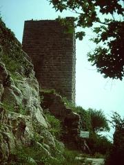 Ruines des châteaux de Weckmund et de Wahlenbourg - Français:   Haut-Eguisheim - Chateau de Vaudèmont (Weckmund) - Vue générale