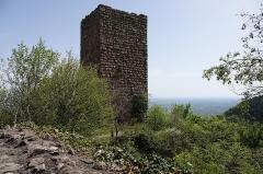 Ruines des châteaux de Weckmund et de Wahlenbourg - Français:   Château de Weckmund à Husseren-les-Châteaux (Haut-Rhin, France).