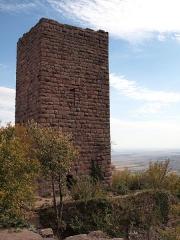 Ruines des châteaux de Weckmund et de Wahlenbourg -  Château de Wahlenbourg, XII e