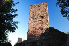 Ruines des châteaux de Weckmund et de Wahlenbourg -  Les Trois Châteaux d\'Eguisheim, Alsace