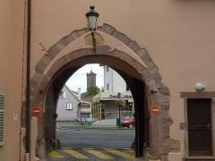 Ancienne préceptorerie des Antonins, actuellement Maison Saint-Michel - Français:   Préceptorerie des Antonins (Issenheim)