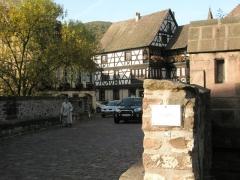 Pont sur la Weiss et sa chapelle -  Pont sur le Weiss (Kayserberg)