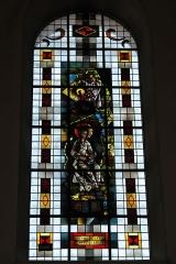 Eglise catholique Saint-Martin - Deutsch: Kirche Saint-Martin in Masevaux im Département Haut-Rhin (Elsass/Frankreich), Bleiglasfenster, Darstellung: Maria Magdalena