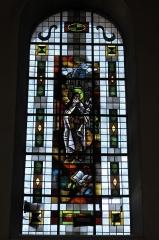 Eglise catholique Saint-Martin - Deutsch: Kirche Saint-Martin in Masevaux im Département Haut-Rhin (Elsass/Frankreich), Bleiglasfenster, Darstellung: Therese von Lisieux