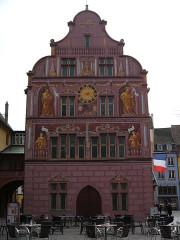 Ancien hôtel de ville, actuellement Musée historique - Deutsch: Rathaus, Mülhausen, Elsass, Frankreich