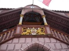 Ancien hôtel de ville, actuellement Musée historique - Deutsch: Treppe des Rathauses, Mülhausen, Elsass, Frankreich