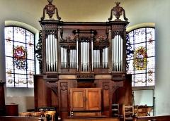 Eglise catholique Saint-Louis - Français:   Orgue de l\'église de Neuf Brisach