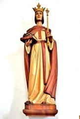 Eglise catholique Saint-Louis - Français:   Statue de Saint Louis, dans l\'église.