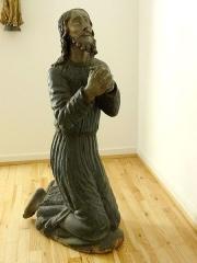 Ancienne halle au blé - Français:   Alsace, Haut-Rhin, Rouffach, Musée du Baillage(Halle aux blés), place de la République. Statue \