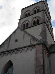 Eglise catholique Saint-Pierre-et-Saint-Paul - Deutsch: Église Saints-Pierre-et-Paul de Sigolsheim Schallarkaden