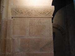 Eglise catholique Saint-Pierre-et-Saint-Paul - Deutsch: Interior of Église Saint-Pierre-et-Saint-Paul, Sigolsheim Pfeiler