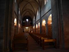 Eglise catholique Saint-Pierre-et-Saint-Paul - Deutsch: Interior of Église Saint-Pierre-et-Saint-Paul, Sigolsheim Schiff