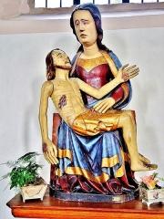 Eglise catholique Saint-Dominique - Français:   Pieta de Notre-Dame du tilleul, datée de 1399