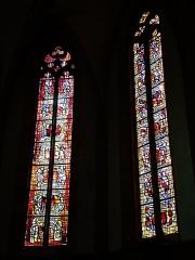 Eglise catholique Saint-Dominique - Français:   Vitraux de l\'abside