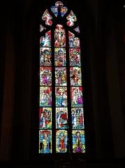 Eglise catholique Saint-Dominique - Français:   Vitrail du chœur