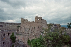 Château de Hohlandsberg ou Hohlandsbourg - Château du Hohlandsbourg, près de Wintzenheim et Colmar, Haut-Rhin (68), France. (Photographie prise par Dsch67 en 2006)