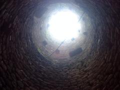 Ruines du château de Pflixbourg - Français:   Château du Pflixbourg - Intérieur de la tour